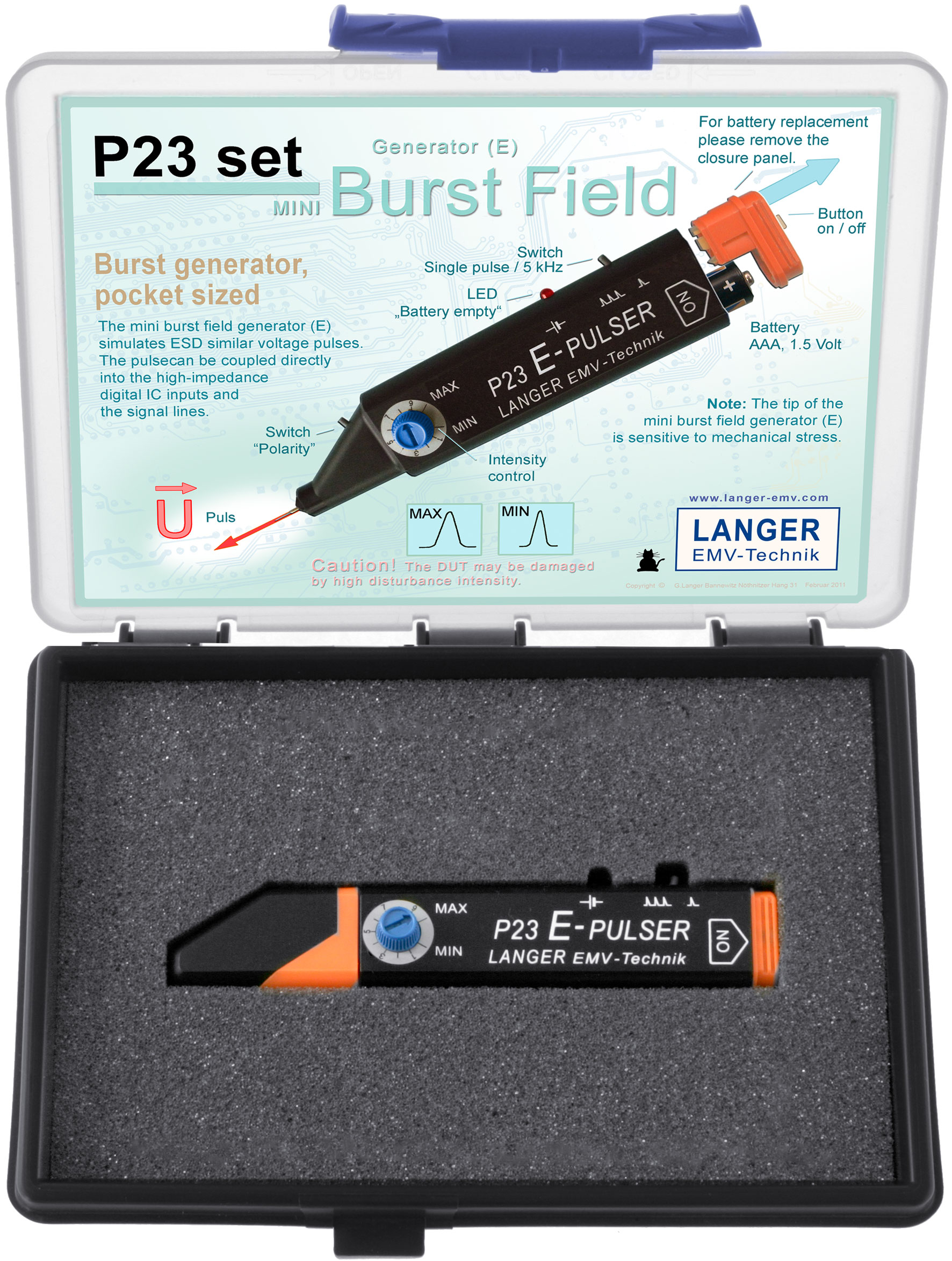 P23 set, Mini Burst Field Generator (E)