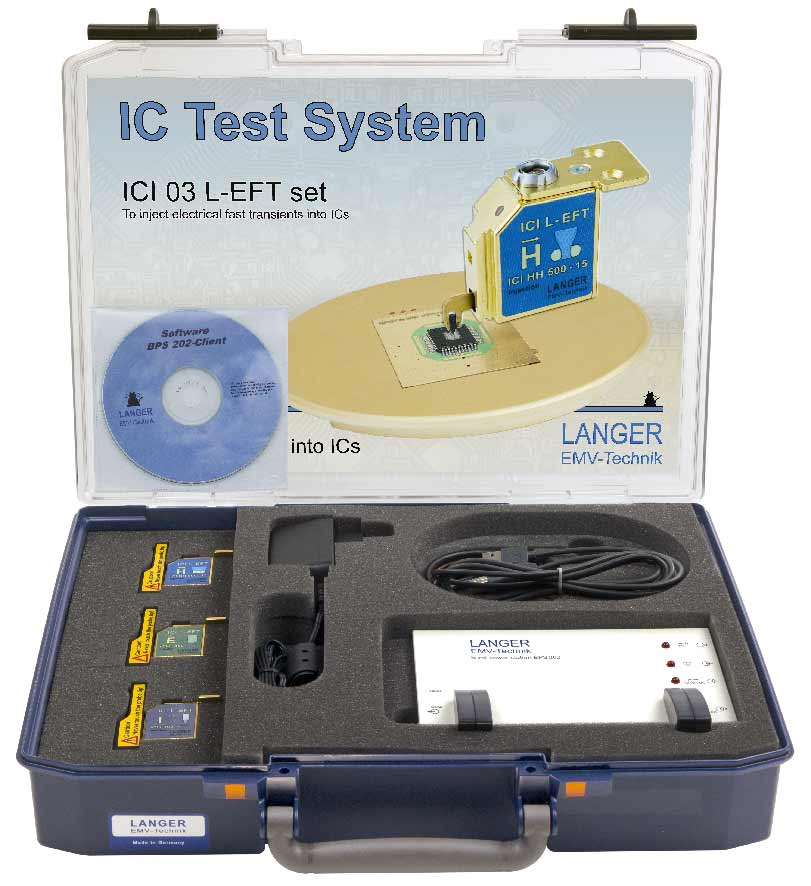 ICI 03 L-EFT set, IC EM Pulse Injection Langer Pulse