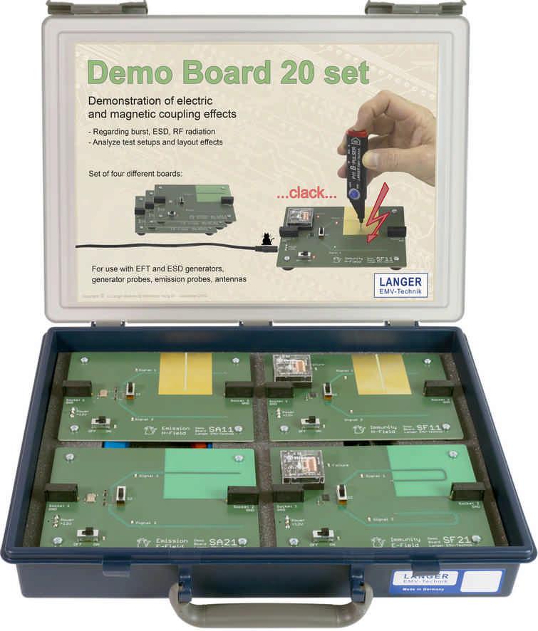 DB 20 set, Demo Boards