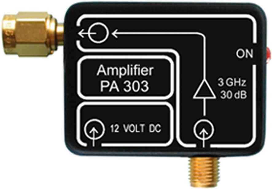 PA 303 SMA, Preamplifier 100 kHz up to 3 GHz